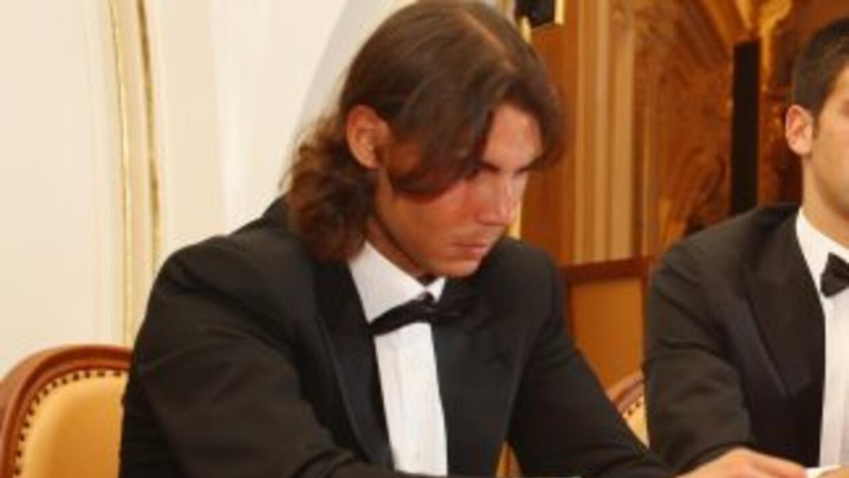 El tenista Rafael Nadal, aficionado al póker, ganó su primer torneo pres...