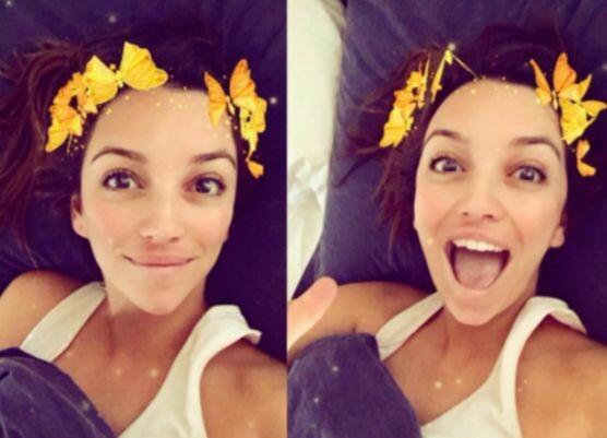 La cara de felicidad de la actriz cuando es su cumpleaños, nos encanta v...