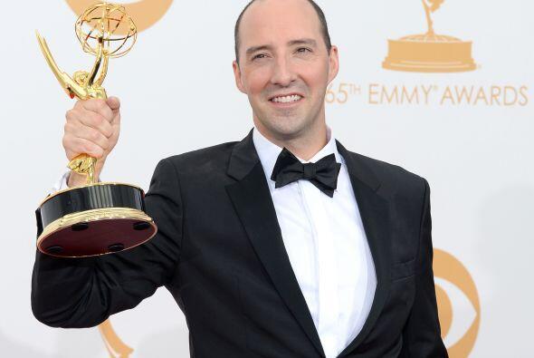 Tony Hale recibió su primer Emmy, como mejor actor de reparto en comedia...