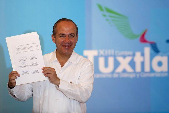 El mandatario subrayó que a 20 años de la creación del Mecanismo de Tuxt...