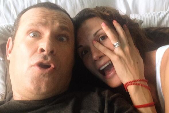 Embarazo de Alan y Cristy Bernal