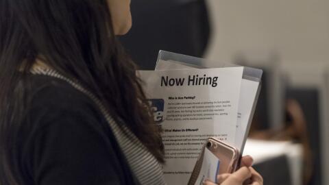 Los números del desempleo en EEUU.