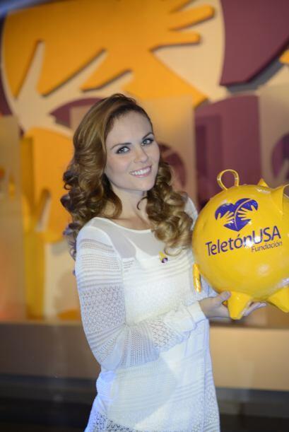 Para la actriz ser parte del Teletón USA es una oportunidad de cambiar m...