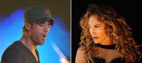 Cientos de pancartas en concierto de Enrique Iglesias y JLo en San Jos&e...