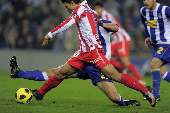 Atlético de Madrid pagó la visita al Espanyol, a quien venció 1-0 en la...