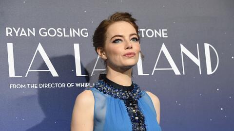 Emma Stone en la premier de La La Land