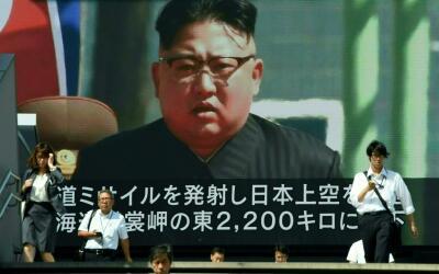 El régimen de Kim Jong Un sigue haciendo amenazas a pesar de las...