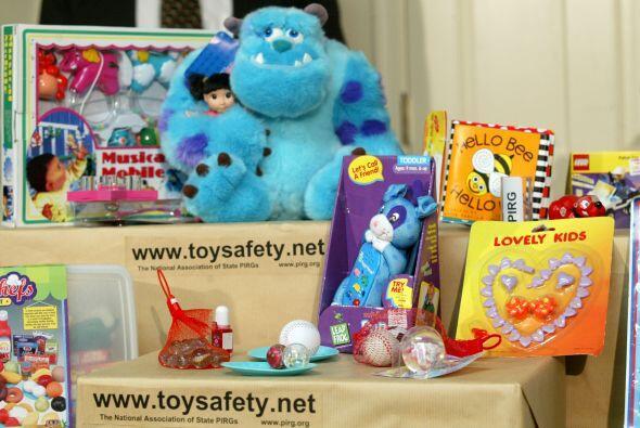 Muchos juguetes traen riesgos para los niños y seguramente no lo...