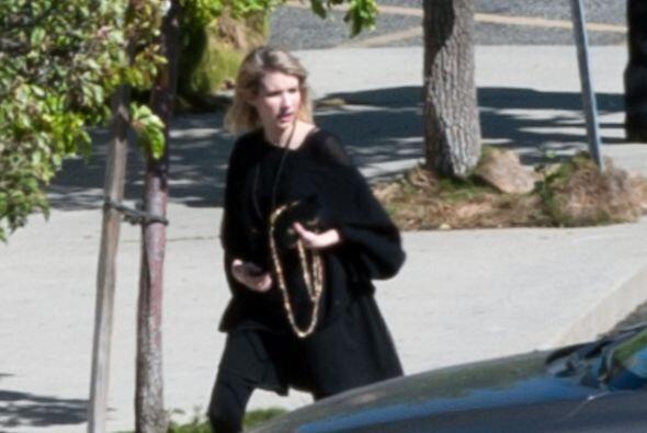 La sobrina de Julia, Emma Roberts, también estuvo presente.
