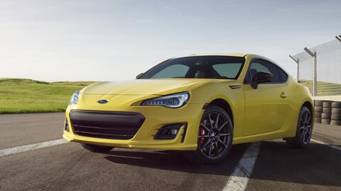 Subaru BRZ Series. Yellow 2017