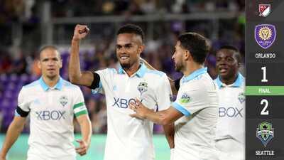 Seattle Sounders gana en casa de Orlando City y amarra la clasificación a la postemporada
