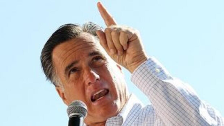 Mitt Romney apuntará a partir de ahora todos sus cañones contra el presi...