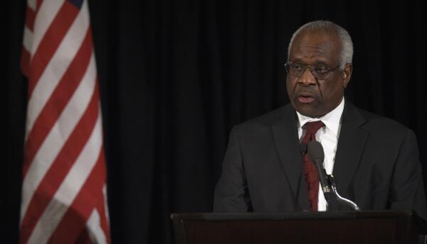 Clarence Thomas, magistrado de la Corte Suprema de Justicia.