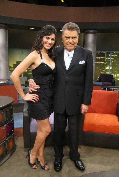 También habla con el Don la  modelo argentina Verónica Per...
