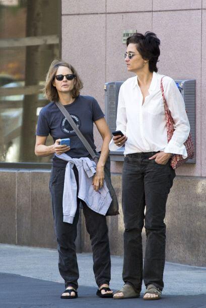 Y después siguieron su camino por las calles de Nueva York.