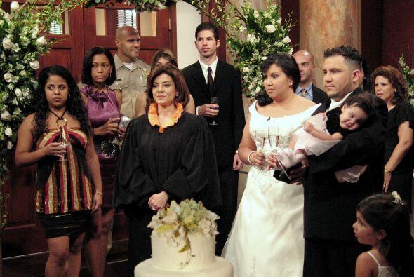 3.-Hasta una boda se ha logrado concretar en la corte de Veredicto Final.