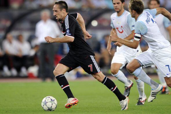 El Bayern Munich también vio acción en este día y lo hizo ante el Zurich.