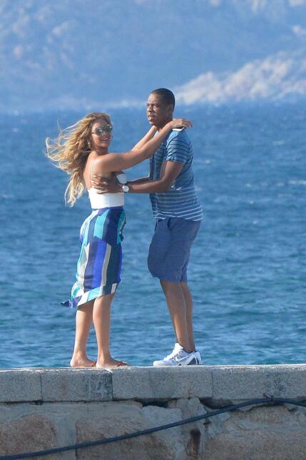 ¡Beyoncé y Jay Z están beso y beso! SALF_BYZCIL150916_07.JPG