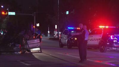 Accidente vehicular en Miami Beach dejó a una persona herida y provocó problemas de tráfico