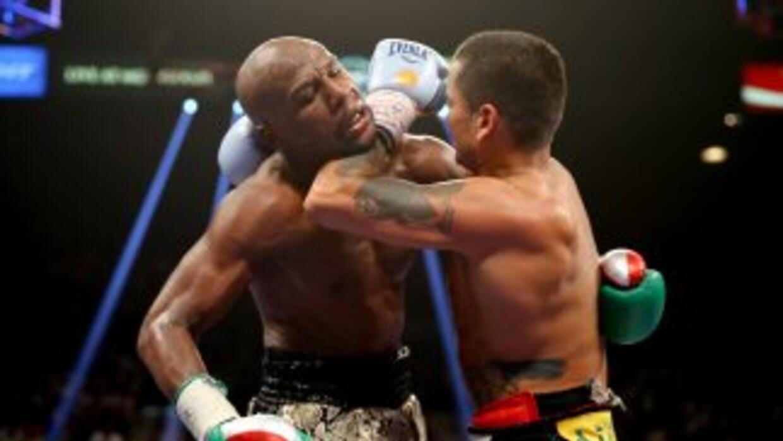 Maidana y Mayweather pelearon por segunda vez en Las Vegas.
