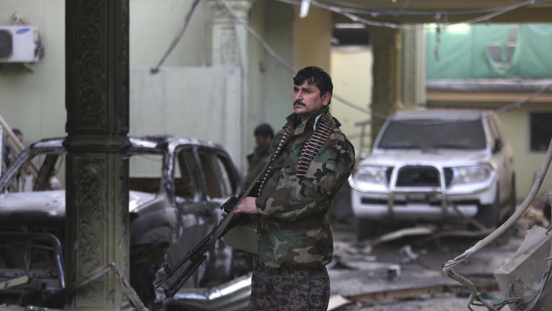 Vigilancia tras atentado en Kabul.