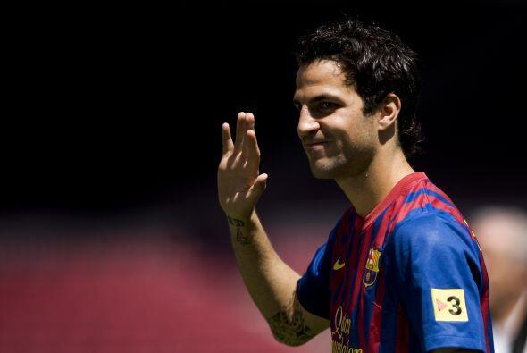 Ahora, se espera que Cesc debute pronto con Barcelona. Incluso, podría h...