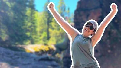Escalando a la cima: las singulares vacaciones de Thalía y su familia en unas paradisíacas montañas