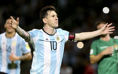 Lionel Messi, la gran figura de Argentina.