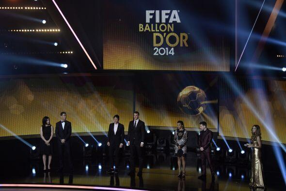 Ronaldo, Angerer, Marta, Messi, Neuer y Wambach lucieron frente a la aud...
