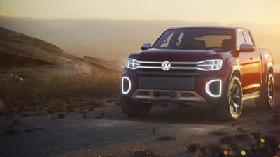 Así luce en el Auto Show de Nueva York la VW Atlas Tanoak Concept