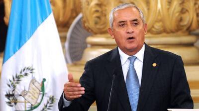 Congreso de Guatemala retira inmunidad a Otto Pérez Molina