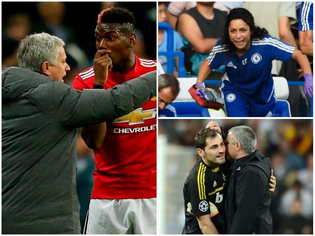 Los arrebatos de autoridad de Mourinho: Pogba, Eva Carnero y más untitle...