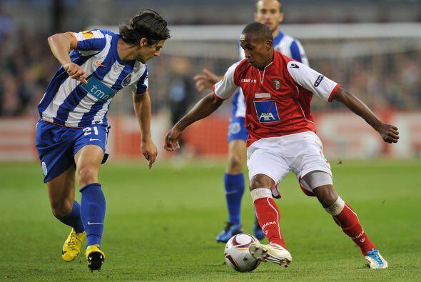 Las pocas opciones al frente del Braga eran bien contrarrestadas por los...