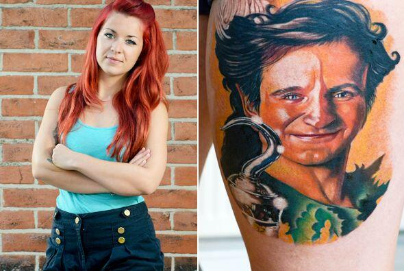 Esta chica se tatuó el rostro del actor para rendirle tributo y llevarlo...