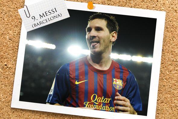 El ataque es liderado por el 'monstruo' del gol, Lionel Messi.