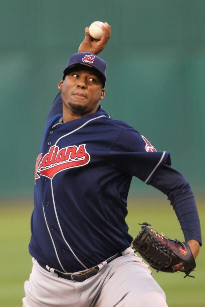 Mención especial: Fausto Carmona, lanzador de los Indios de Cleveland. E...