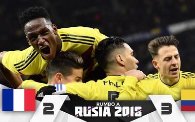 Colombia 3-2 Francia