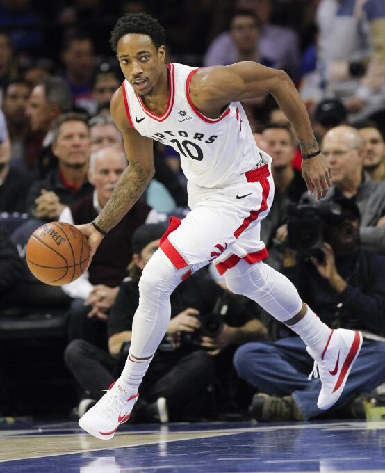 10. DeMar DeRozan (Toronto Raptors) - 27,739,975 millones de dólares