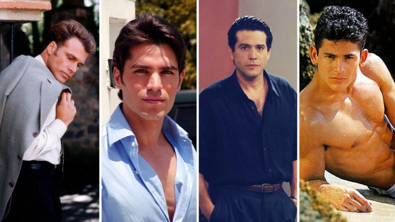 Galanes de los 90 que extrañamos en las telenovelas