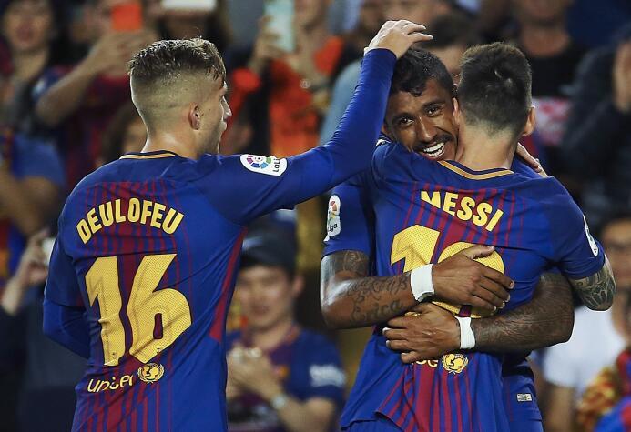 Faena de Messi en la goleada 6-1 del Barcelona sobre Eibar 6364145812829...