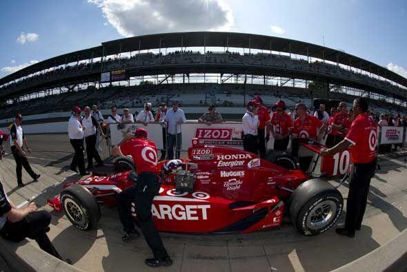 El equipo Target Chip Ganassi Racing Dallara Honda es uno de los grandes...