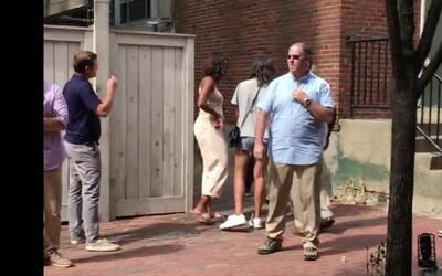 En video: Malia se muda a Harvard con la ayuda de los Obama