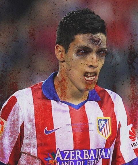 Raúl Jiménez, atacante del combinado tricolor y el Atlético de Madrid.