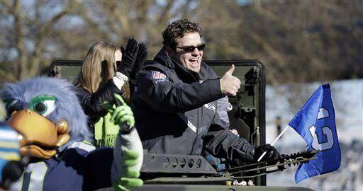 John Schneider, gerente general del equipo (AP-NFL).