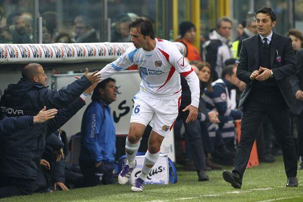 Legrottaglie se ha vuelto importante para el Catania y gracias a su gol...