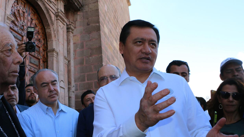 Miguel Ángel Osorio, secretario de Gobernación de México
