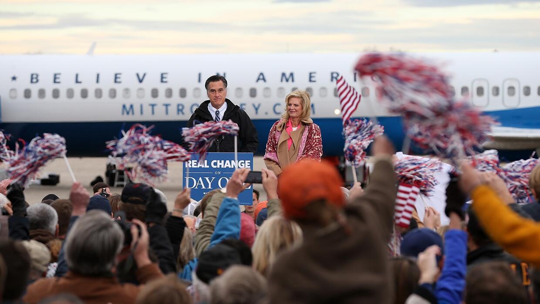 Mitt Romney Avión
