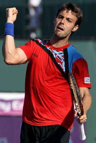 ¿A quién se la estaría refrescando el tenista Marcel Granollers? ¡Pero q...