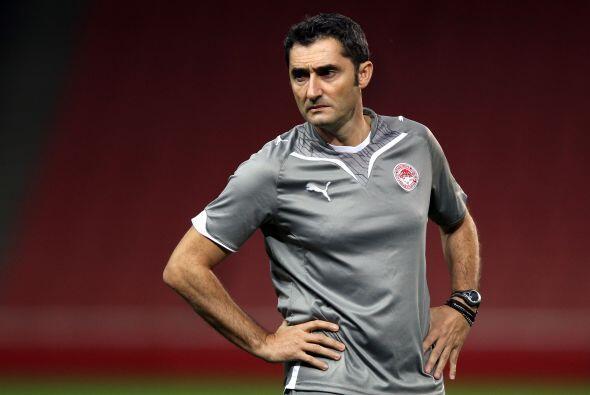 Ernesto Valverde, actualmente al frente del Athletic Club. y exjugador b...