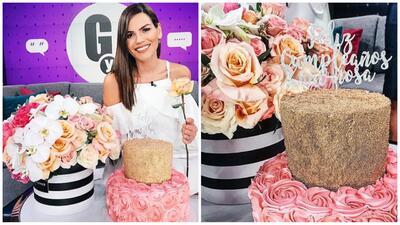 """""""¿No te cansas de sorprenderme?"""": el tierno mensaje de agradecimiento de Karina Banda a Carlos Ponce"""